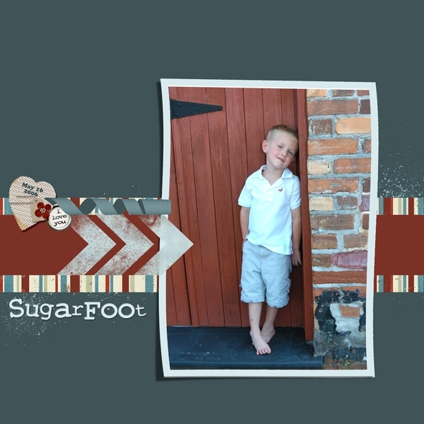 Sat 5/26 Color Challenge-SugarFoot