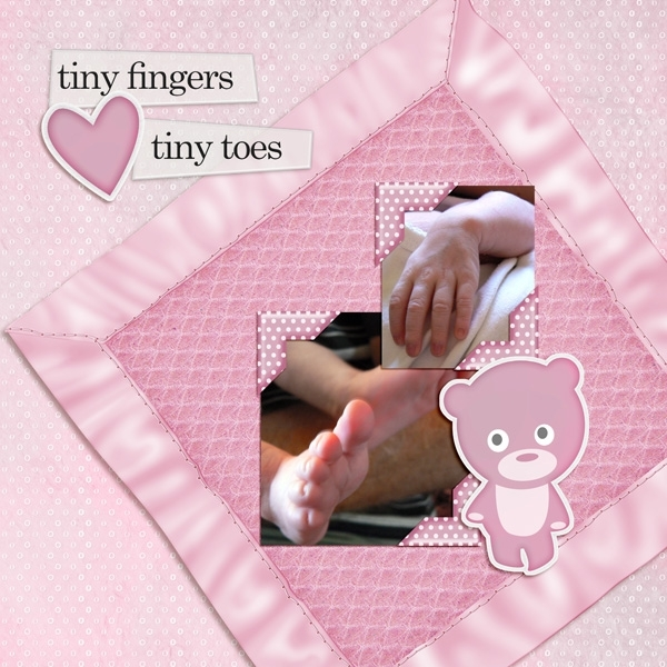 Friday Customer - 13th April -  Tiny Fingers Tiny Toes