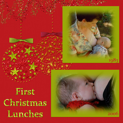 First Christmas Lunches