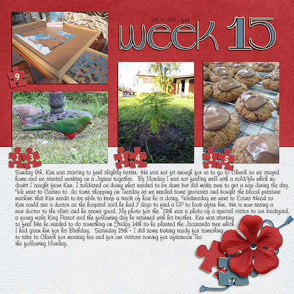 Project Life 2017 Week 15