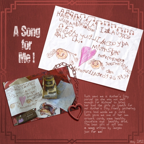 June Scrap Simple - A Song for Me