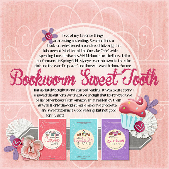 Bookworm Sweet Tooth (1-31-15 challenge)