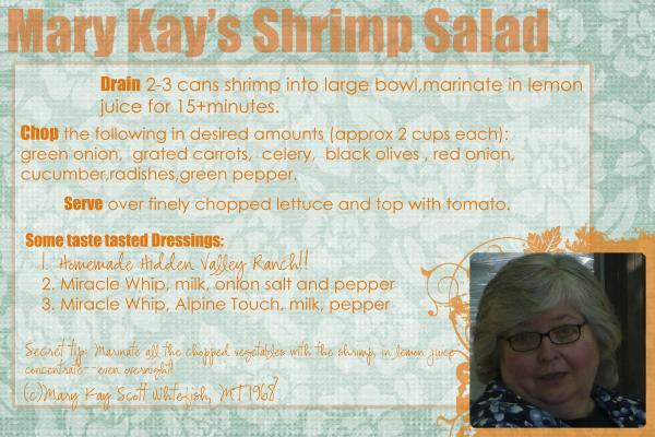 May recipes Shrimp Salad