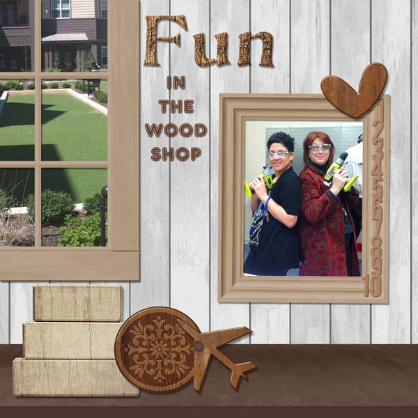March 25th - Fun In The Wood Shop