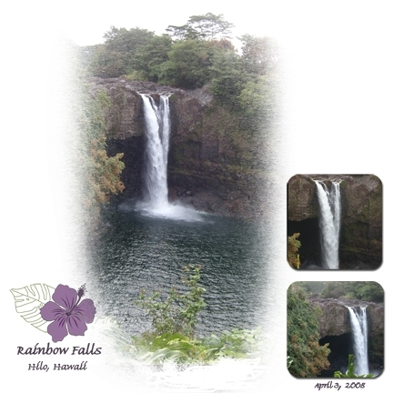 Rainbow Falls- Hilo, Hawaii