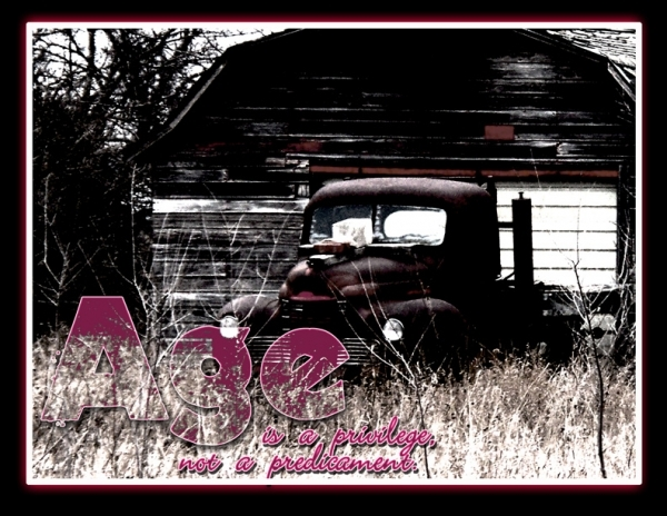 aged truck
