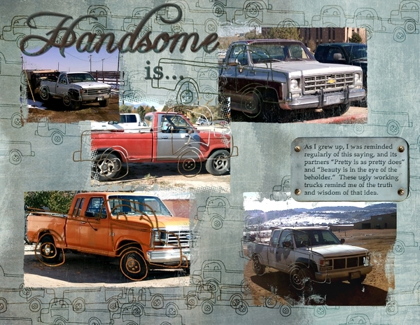 Ugly Truck challenge:  Handsome is...