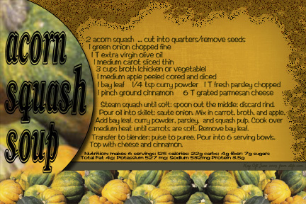 KO Acorn Squash Soup June Recipe Swap