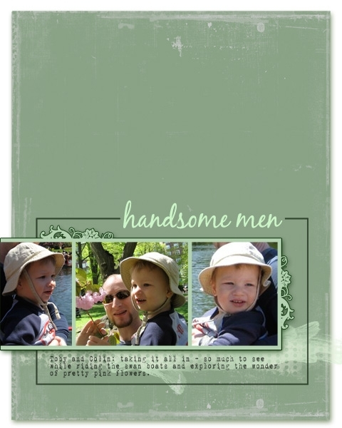HANDSOME MEN
