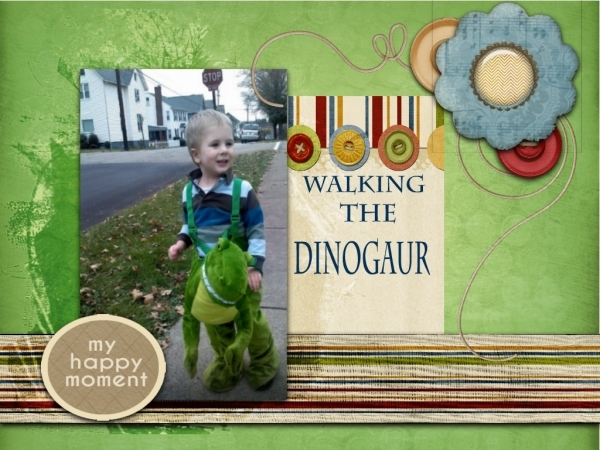 "Walking the ""Dinogaur"""