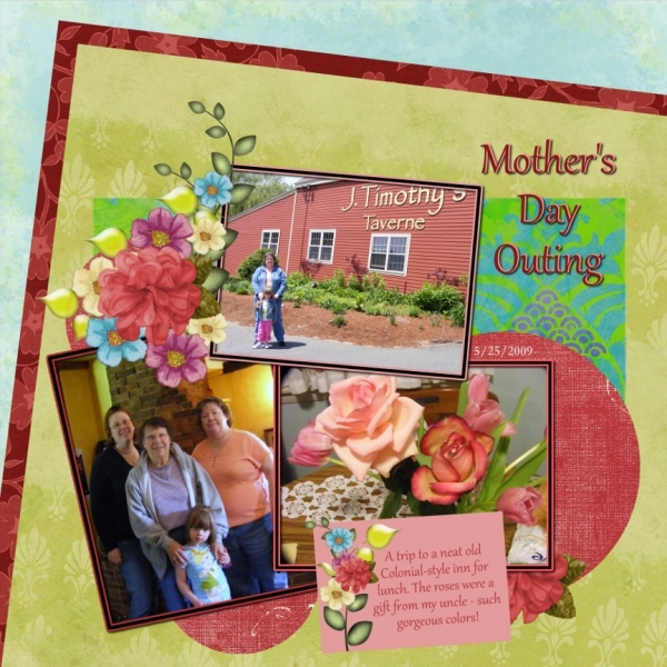 Sat. Color 9/1 - Mother's Day