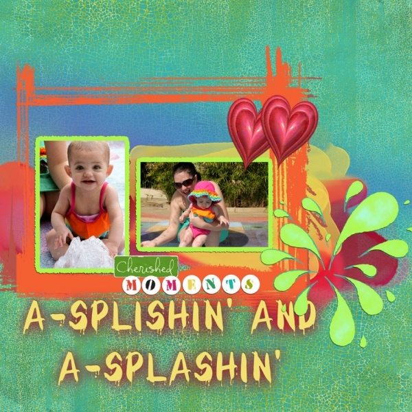 A-Splishin' and A-Splashin' right