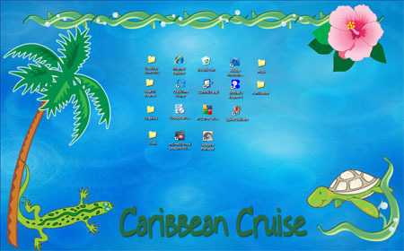 Summer Desktop - Caribbean Cruise