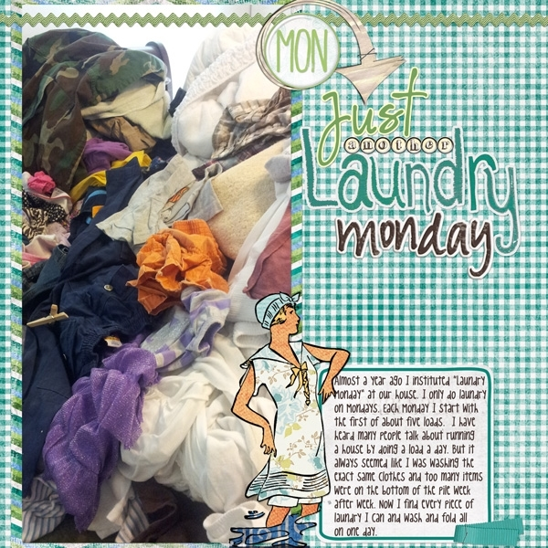 Jan: Just Another Laundry Monday