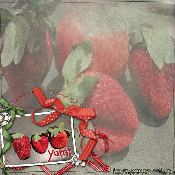 Monday 29aug11 - Close Up challenge - Strawberries