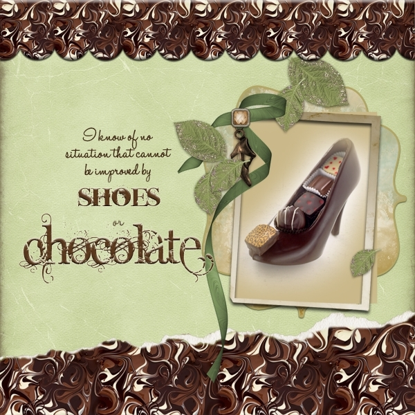 Chocolate & Shoes  Mon 10/29