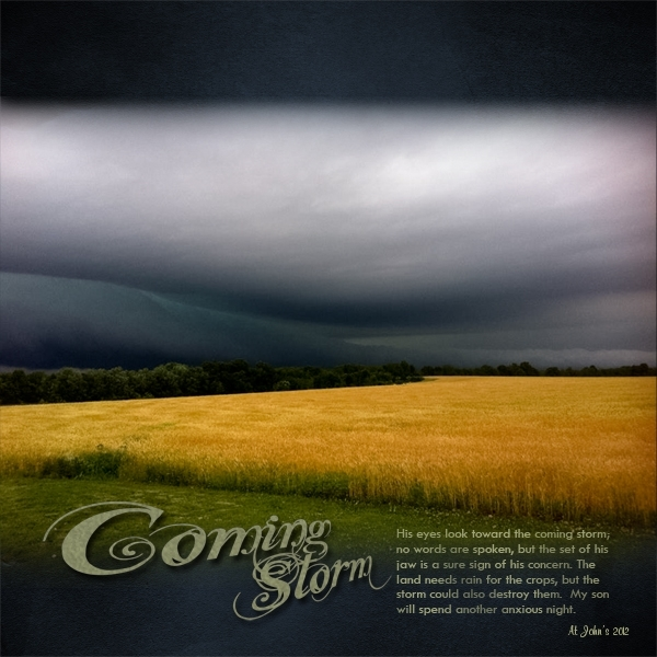 Coming Storm Mon 6/11