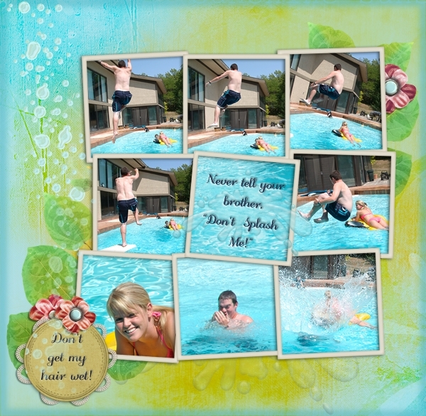 Don't Splash! 8/15 HNC Multi-Photos