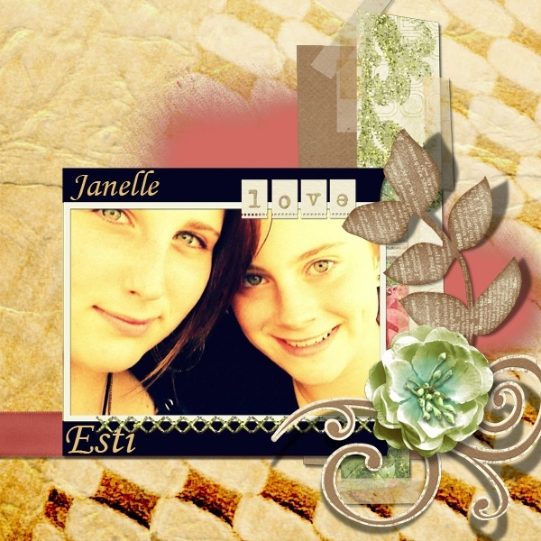 Thursday Texture Challenge - Janelle & Esti