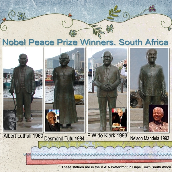 Monday Challenge Nobel Peace Prize Winners