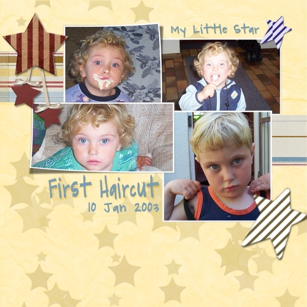 HNC Stars & Stripes- First Haircut