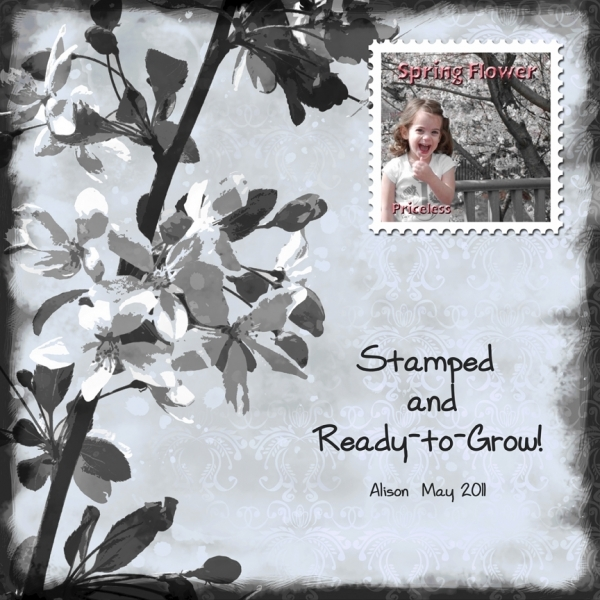 Stamped & Ready-to-Grow!