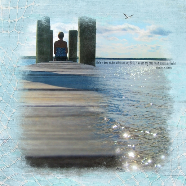 """Thursday 8/23: Quote Challenge - """"Sitting on the Dock"""""""