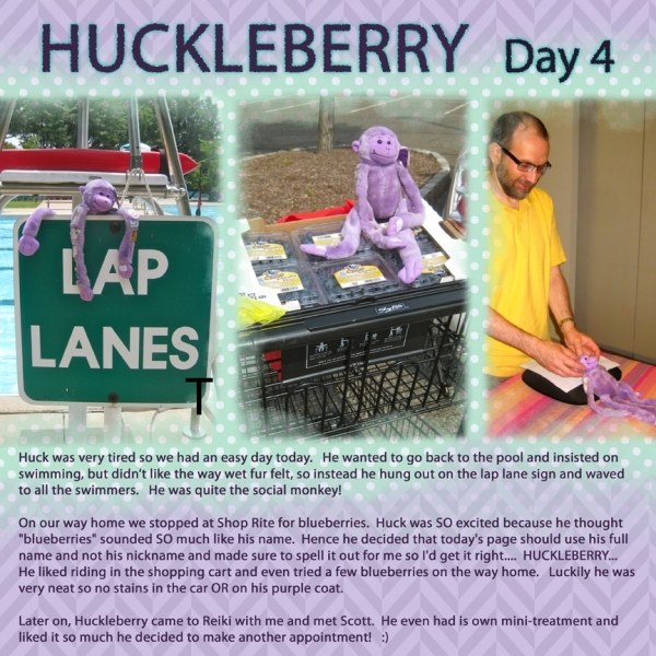 Huckleberry: Day 4