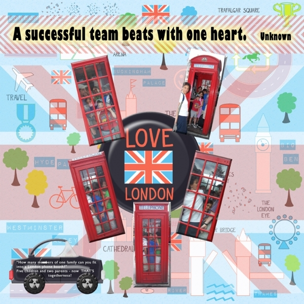 """Equestrian Event Challenge & Chat: """"London Phone Booth"""""""