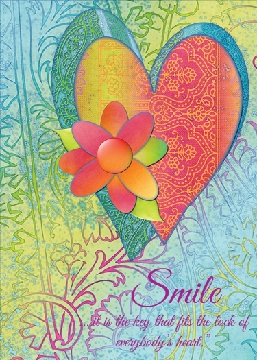 July ATC Word Challenge - Smile