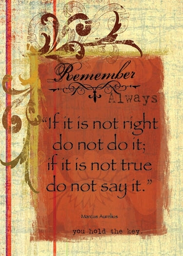 If it's not right.......