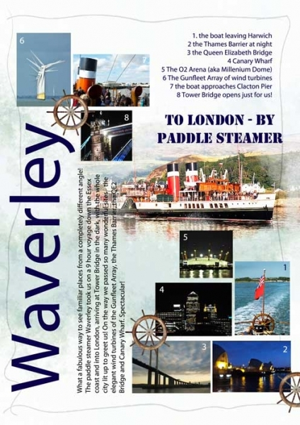 Sketch Challenge - To London by Paddle Steamer