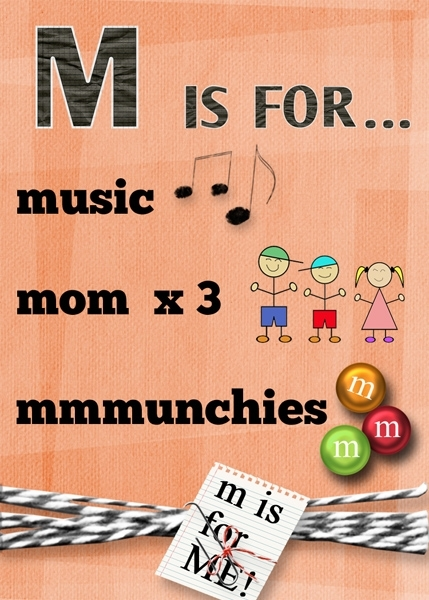 M is for ...