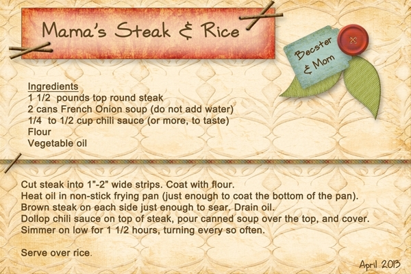 Mama's Steak & Rice