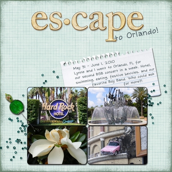 Escape to Orlando (left)