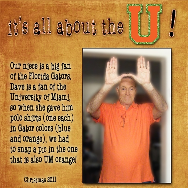 Task #4 - All About the U!