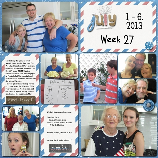 Project Life - week 27