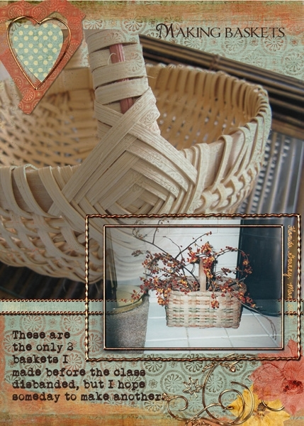 ATC - March Crafts - Basket