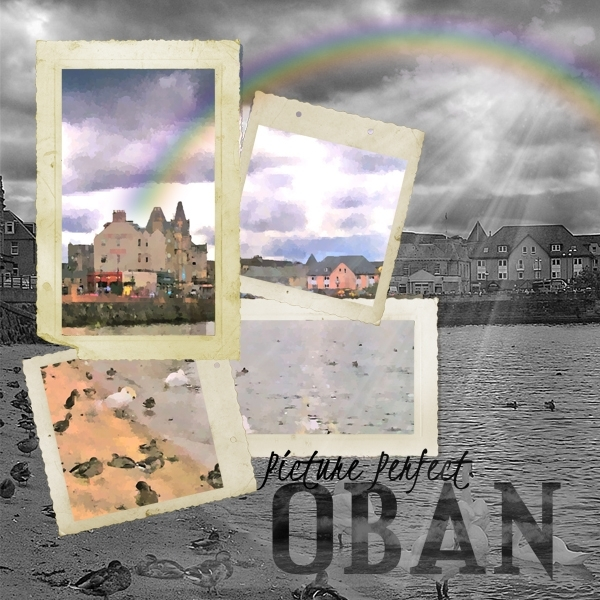 Oban:  Shadow and Sunlight
