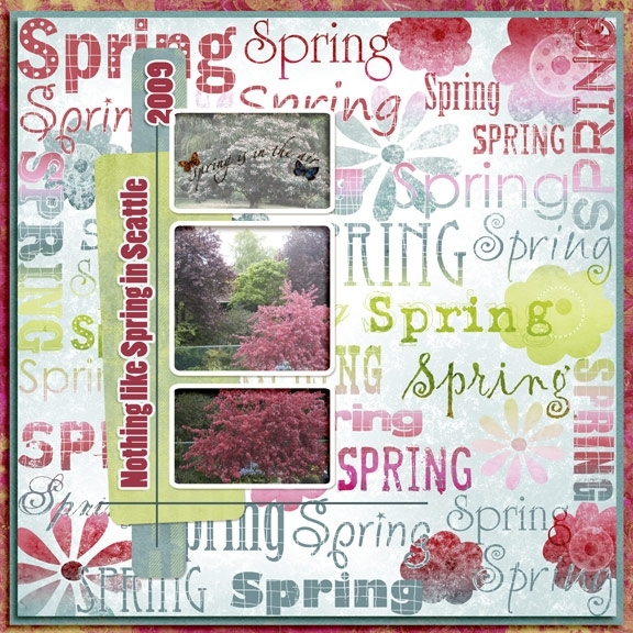 Spring In Seattle (JIF6/easypage) challenge