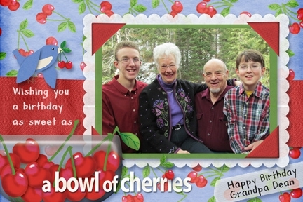 Creative Cards Chat--Cherry birthday