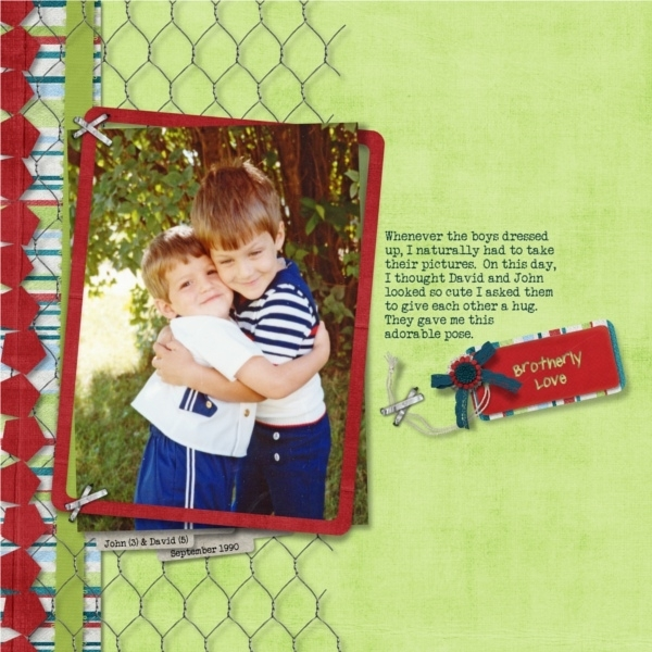 8/13 Left Side Photo(s) - Brotherly Love