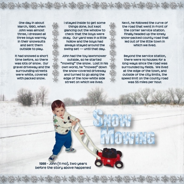 Snow Mowing (page 1)