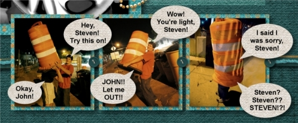 Night in the City - Road Hazards - Detail