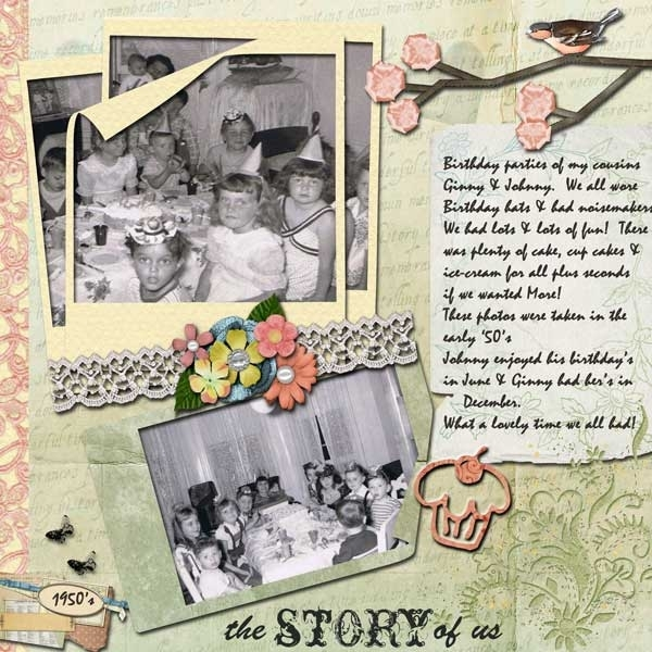 Sept Swap - the Story of Us - For Carol