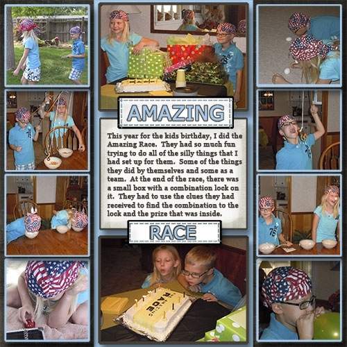 Amazing Race Birthday