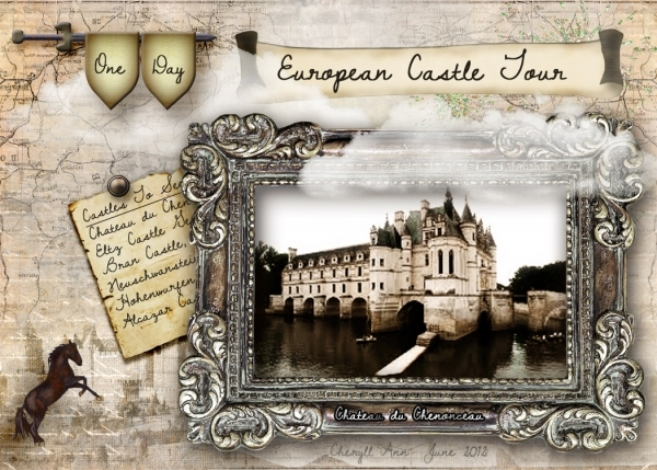 June ATC - European Castle Tour