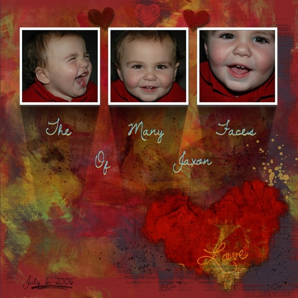 Feb 9 - Sat Color - Many Faces of Jaxon