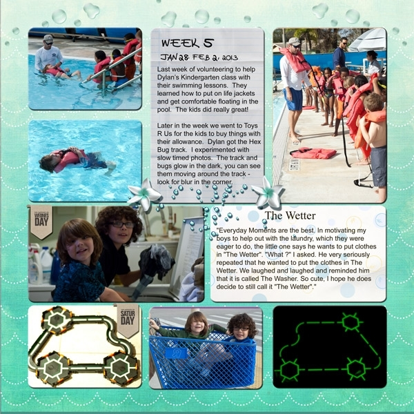 Project Life Week 5 Page 2