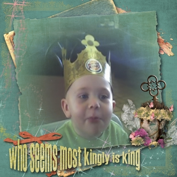 who seems most kingly is king